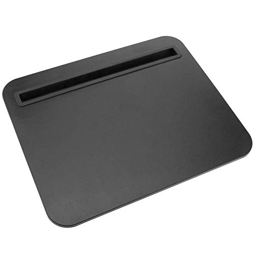 PrimeMatik - Work desk Padded lap tray table for tablet and laptop 29 x 24 cm