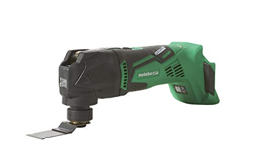 Metabo HPT Cordless Oscillating Multi-Tool, Bare Tool - No Battery, 18V Brushless Motor, Variable Speed Mode Functions, Tool-less Blade Change, Lifetime Tool Warranty (CV18DBLQ5)