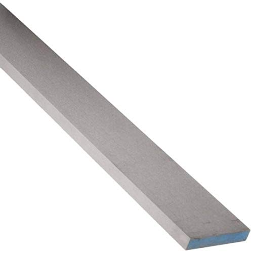 "A2 Tool Steel Rectangular Bar, Air Hardened/Annealed/Precision Ground, Precision Tolerance, ASTM A681, 1/8"" Thickness, 2-1/2"" Width, 18"" Length Kentucky"