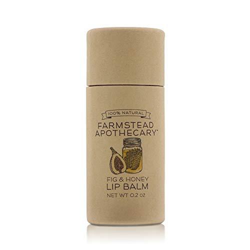 Farmstead Apothecary, Lip Balm Fig Honey, 0.2oz