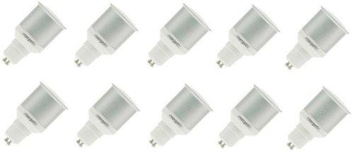 10x Sparlampe GU10 11W 11 Watt Energiesparleuchte Reflektor Longlife 2700k