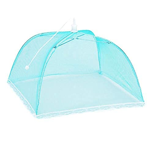 DAGUAI 17' x 17' cubierta neta tienda emergente paraguas anti- pantalla profesional anti- mosquito herramienta de cocina gadget (Color : Blue|china)