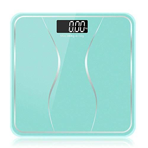 LQH Waage Badezimmer Körperwaagen, elektronische Digital-Boden-Gewicht-Balancen, LCD-Anzeige, 180Kg