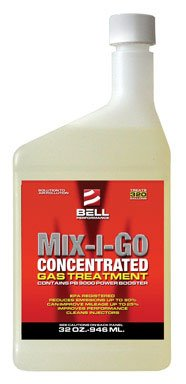 Bell Performance - Mix-I-Go Concentrate Gasoline and Ethanol Treatment - 32 oz. bottle