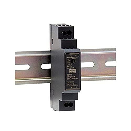 Meanwell HDR-15-24 AC-DC Ultra Slim DIN Fuente de alimentación