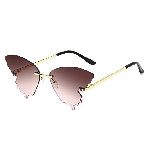 LALB Gafas De Sol Personalizadas De Mariposa, Gafas De Sol De Estilo De Calle Coloridas para Hombres Y Mujeres En Europa Y América,D