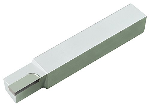 Micro 100 AR-6 Brazed Tool, Right Hand Square Shank Diameter'Style A', 2.500' Length, 3/8' Width, 3/8' Height, Tip Dimension of 1/8' Thick, 1/4' Width, 3/8' Length, 1/64' Radius