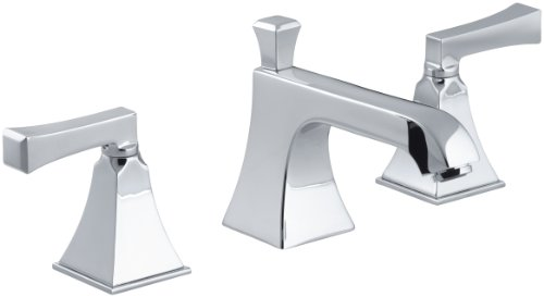 KOHLER 574537 Memoirs Stately Bathroom Sink Faucet, Polished Chrome