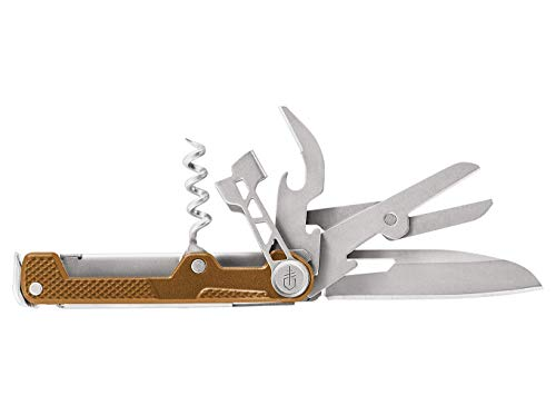 Gerber Multifunktionswerkzeug mit 8 Funktionen, Messer mit glatter Klinge,...