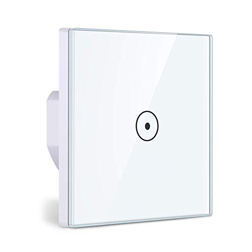 Alexa WiFi Light Switch, Smart Light Switch for Alexa and Smartphone, Tempered...
