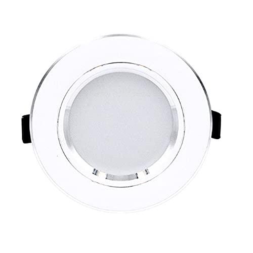 QAZWSXED LESANGBAIHUODIAN 6 unids/Lote LED Downlight 220V Luz de Techo 5W 9W 12W Empotrable Abajo Ligero LED LED LED Luz de Panel 15W 18W Foco de iluminación Interior