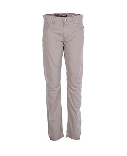 ALBERTO Herren Jeans Stone Micro Structure 5007-1711-530 beige Modern Fit (40W x 34L)