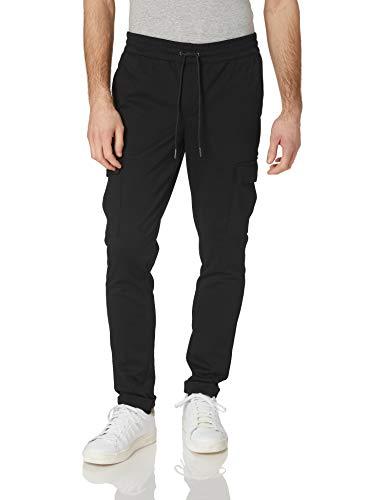 Jack & Jones JJIWILL JJPHIL Cargo Nor Black Pantalones deportivos, negro, XXL para Hombre