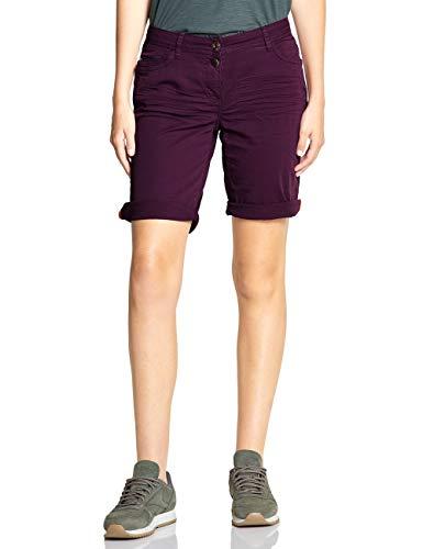 Cecil Damen 372315 Shorts, deep Berry, W31(Herstellergröße:31)