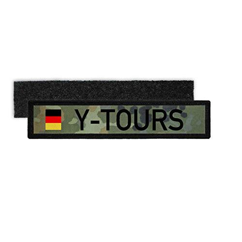 Copytec Namenspatch Y-Tours Bundeswehr Flecktarn Camo Kennzeichen Heer Fun #30635