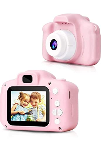 Vikas gift gallery Kids Digital Camera, Web Camera for Computer Child Video Recorder Camera Full HD 1080P Handy Portable Camera 2.0 Screen (Pink or Green )