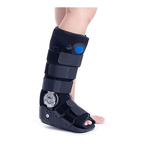Air Cam Walker Frakture Stiefel, verstellbarer Winkel, Fußbandage, Aircast Walking Boot Fußbandage für verletzte Füße und Knöchelfraktur, Waden- und Knöchelschutz, Verstauchungsschutz (Größe : M)