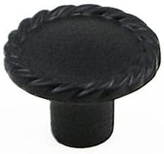 Berenson Rubbed Maestro Mushroom Cabinet Knob, 1-3/8