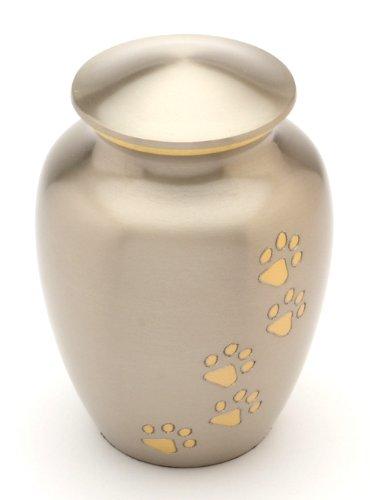 Urns UK Matlock Gedenkurne für Haustiere, Zinnoptik, 15,2cm