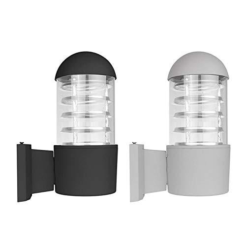 Moderne buitenverlichting waterdicht Up Down LED wandlamp buitenverlichting industriële decoratie voor tuin buiten buitenverlichting One Head_1pc Black