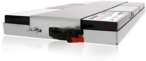APC Smart-UPS 1500VA LCD RM 1U 120V SMT1500RM1U Compatible Replacement Battery Pack by UPSBatteryCenter