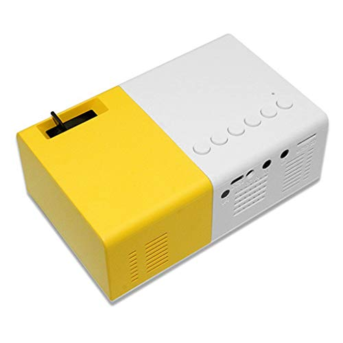 BIlinli Mini proyector J9 1080P Proyector ultraportátil Soporte Multimedia móvil Home Theater Proyector pequeño