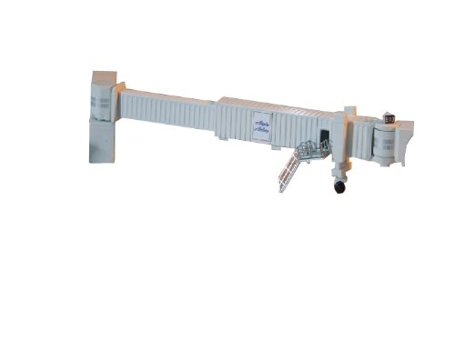 Gemini Jets Airbridge Set 1 with 6-Pack Narrowbody Jet Bridges and Airport Adapters, 1:400 Scale