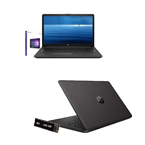 Ordenador portátil HP Amd 3020e de 2,6 GHz, pantalla de 15,6 pulgadas, HD, RAM de 4 GB DDR4, SD de 256 GB M2, HDMI, USB 3.0, WiFi, LAN, Bluetooth, Webcam, Windows 10 Pro, Open Office, Antivirus