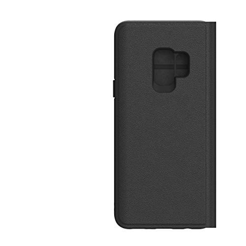 adidas 29930 Originals Book Hülle New Basics, Logo für Samsung G960 Galaxy S9, Schwarz/Weiß