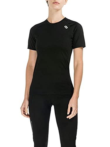 Rewoolution Ali, T-Shirt Donna, Nero, XS