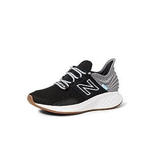 New Balance womens Fresh Foam Roav V1 Sneaker, Black/Light Aluminum, 9.5 US