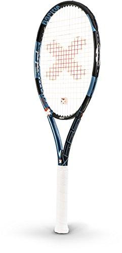 pacific Tennisschläger BXT X FAST LT - bespannt mit Hülle, schwarz/ chrom blau, 4: (4 1/2), PC-0062-17.04.11