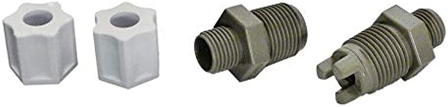 ZVV CL220 Chlorinator Check Valve Compression Nut Inlet Fitting Replacemen,for Hayward CLX220EA