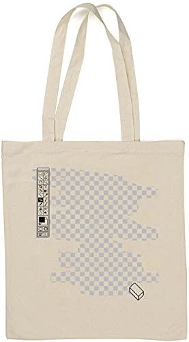 Retro Photo Editor Graphic Design Sac fourre-Tout en Coton Naturel Blanc One Size