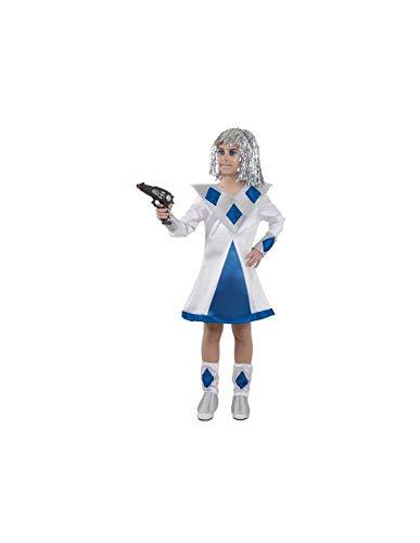 DISBACANAL Disfraz de galáctica niña - -, 8 años