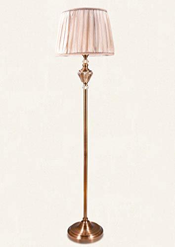 lampadaire Lampadaire, Lampadaire En Cristal, Lampadaire Vertical, Interrupteur À Pied, Vis E27, Salon
