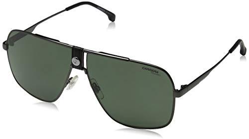 Carrera Sport 1018/S Gafas, DKRUTH BLACK/GN VERDE, 63 Adultos Unisex