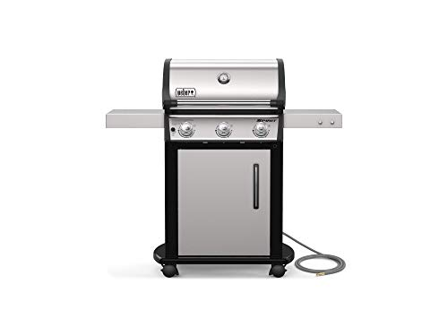 Weber 47502001 Spirit S-315 NG Gas Grill, Stainless Steel
