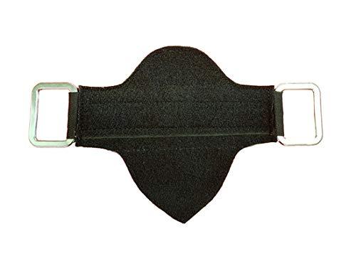 A&M Reitsport klettbare Steigbügelaufhängung für baumloser Sattel Geschlossen