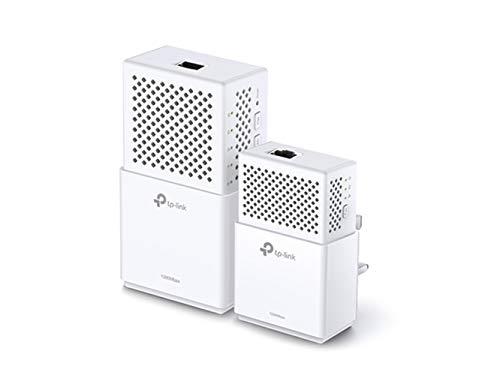 TP-Link Adattatore Powerline a 2 porte WiFi Starter Kit AV1000