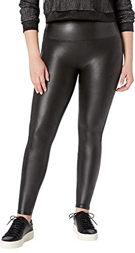 SPANX Faux Leather Leggings Black LG - Regular 30