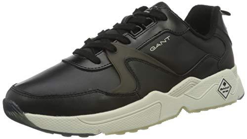 GANT FOOTWEAR Herren NICEWILL Sneaker, Black, Black, 45