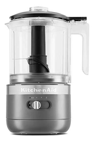 KitchenAid KFCB519DG kabelloser Zerkleinerer für 5 Tassen, mattes Anthrazit
