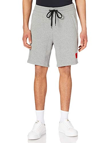 HUGO Herren Diz212 10231445 01 Lässige Shorts, Medium Grey31, M