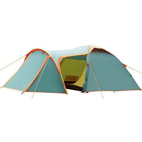 KEKEYANG Tent, Tienda Azul HWZP luz al Aire Libre Tiene Capacidad for 2-3 Personas de Gran Capacidad del Equipo de Picnic portátil apropiado Durante Tres Temporadas Cámping,