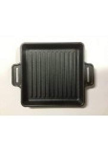 BBQ-Profi CIG Powerpan Grate massive Gusspfanne geriffelt