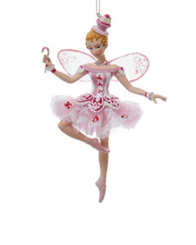 Kurt Adler 6In Sugar Plum Fairy Ornament