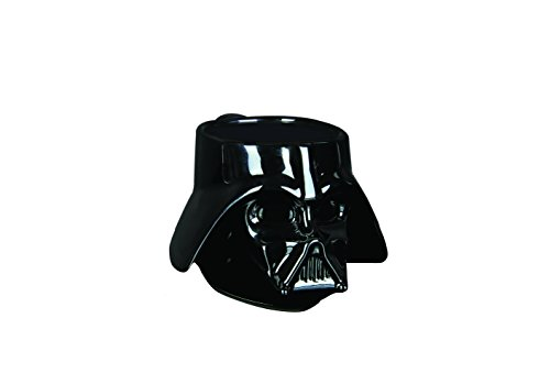 Star Wars Darth Vader Taza con Forma Casco Darth Vader, cerámica, Negro, 13x 10x 9cm