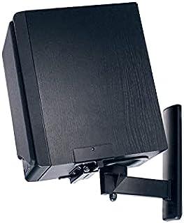 B-Tech BT77 Ultragrip Pro Speaker Mount, Set of 2, Side Clamp with Tilt and Swivel, Black