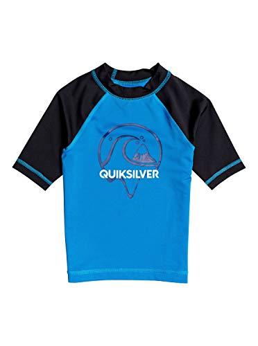 Quiksilver Kinder Bubble Dreams - Kurzärmliger Rashguard mit UPF 50 für Jungen 2-7 S/sl Surf Tee, Blithe, 5